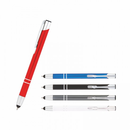 1011 Metal Tükenmez Dokunmatik Kalem