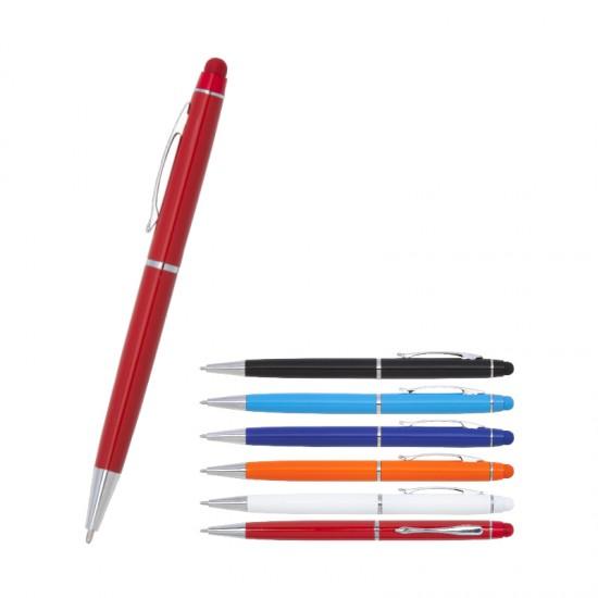 1022 Metal Touch Pen Tükenmez Kalem