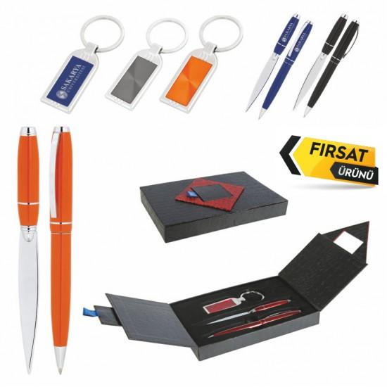 310 Hediyelik Set (Kalem, Anahtarlik, Zarf Açacağı)