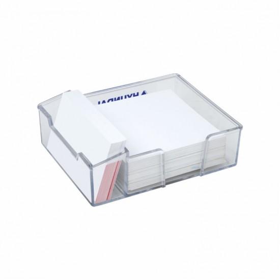 3407 Kristal Küp Notluk (Kağıtsız) 10.5X13X3.5 Cm