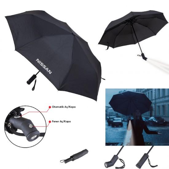 5100 8 Telli Işıklı Şemsiye