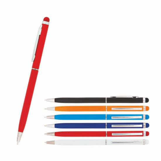 587 Metal Tükenmez Dokunmatik Kalem