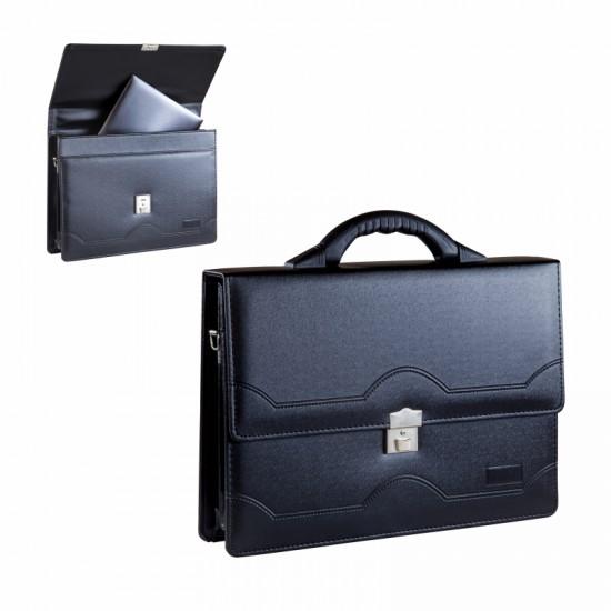 700-L Evrak Çantası Laptop Bölmeli 27X33 Cm, 5 Bölmeli