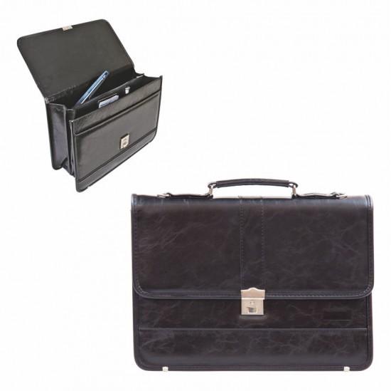 755 Evrak Çantası Laptop Bölmeli 40X30 Cm, 5 Bölmeli