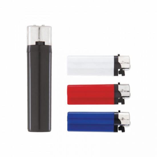 YMN-220 I-Lighter Yuvarlak Midi Taşlı Siboplu Çakmak